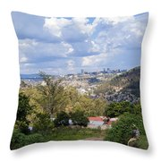 Kigali Landscape Throw Pillow