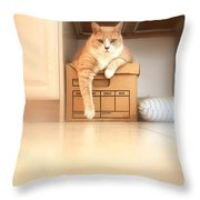 Kiki's Nest Throw Pillow
