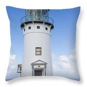 Kilauea Lighthouse Throw Pillow