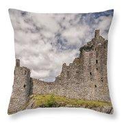 Kilchurn Castle 02 Throw Pillow