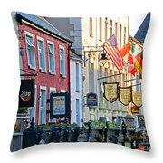 Killarney Ireland Storefronts 7690 Throw Pillow