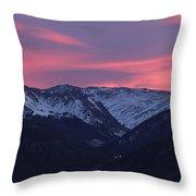 Killian's Sunrise Throw Pillow