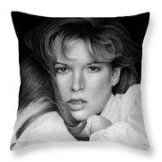Kim Basinger Throw Pillow