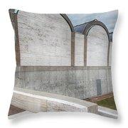 Kimbell Art Museum Fort Worth 3 Throw Pillow
