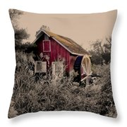 Kimberton Mill  Chester County Pa Throw Pillow