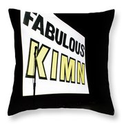 Kimn Radio Denver Colorado Throw Pillow