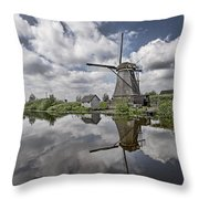Kinderdijk Throw Pillow
