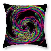 Kinetic Rainbow 36 Throw Pillow
