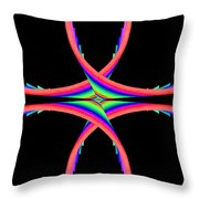 Kinetic Rainbow 40 Throw Pillow