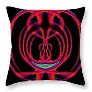 Kinetic Rainbow 46 Throw Pillow
