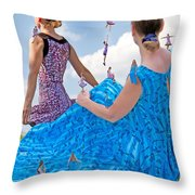 Kinetics  Throw Pillow