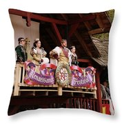 King And Company Throw Pillow