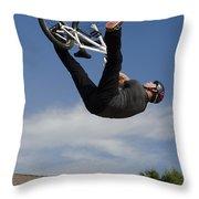 King Bmx 1 Throw Pillow