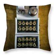 King Calling Throw Pillow