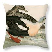 King Duck Throw Pillow