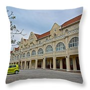 King Edward Hotel In Port Elizabeth-south Africa Throw Pillow