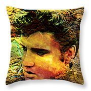 King Elvis Throw Pillow
