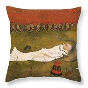 King Hobgoblin Sleeping Throw Pillow