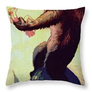 King Kong  Throw Pillow
