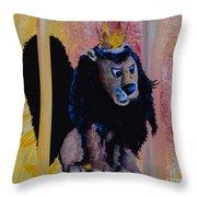 King Moonracer Throw Pillow