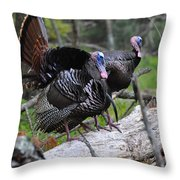 King Of Spring Throw Pillow