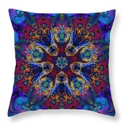 King Of The Universe Throw Pillow