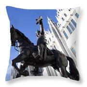 King Robert The Bruce Throw Pillow
