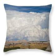 Kingdom Clouds Throw Pillow