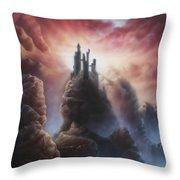 Kingdom Of Stone Throw Pillow