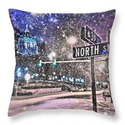 Kingdoms Of Heaven And Earth - Natural Throw Pillow