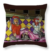 Kings And Queens Throw Pillow