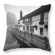 Kings Arms Throw Pillow