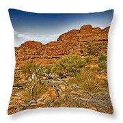 Kings Canyon-the Rim V2 Throw Pillow