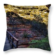 Kings Canyon V11 Throw Pillow