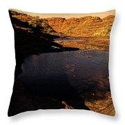 Kings Canyon V12 Throw Pillow