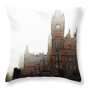 Kings Cross Throw Pillow