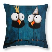 Kings For A Day Throw Pillow