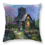 King's Garden Throw Pillow