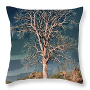 King's Tree Throw Pillow