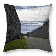 Kingston Penitentiary View To The Sallyport Throw Pillow