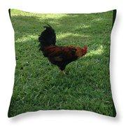 Kingstown Cockfowl Throw Pillow