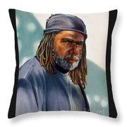 Kinkabob Throw Pillow