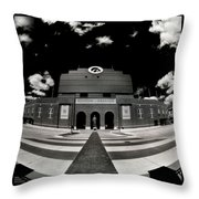 Kinnick Stadium Throw Pillow