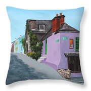 Kinsale Corner Shop Throw Pillow
