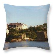Kinsale Waterfront Throw Pillow