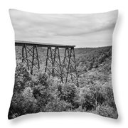 Kinzua Viaduct 6911 Throw Pillow