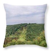 Kinzua Viaduct 6916 Throw Pillow