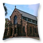 Kirkpatrick Chapel Throw Pillow
