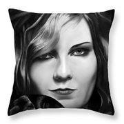 Kirsten Dunst Throw Pillow