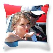 Kiss Classic Throw Pillow